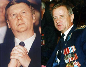 Чубайс мог воспользоваться имиджем полковника ГРУ Владимира Квачкова, чтобы беспрепятственно провести реорганизацию РАО ЕЭС