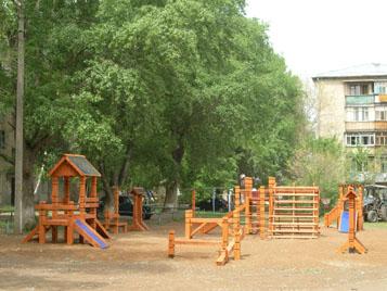 детские игровые и спортивные площадки города Бузулук