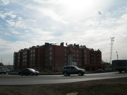 Бузулукские квартиры в новой пятиэтажке около виадука
