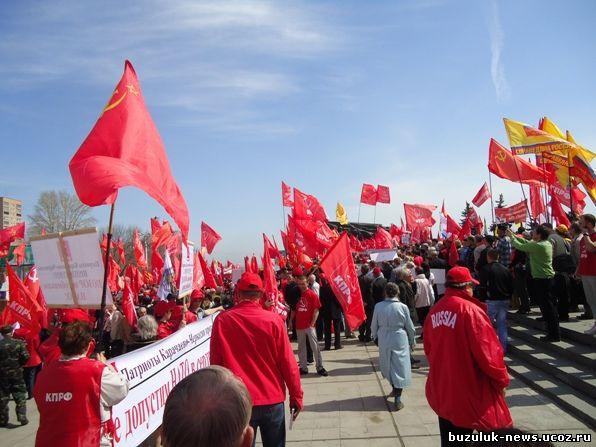 митинг в городе Ульяновск