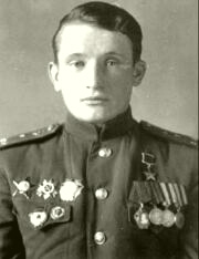 старшему лейтенанту Басманову Владимиру Ивановичу присвоено звание Героя Советского Союза