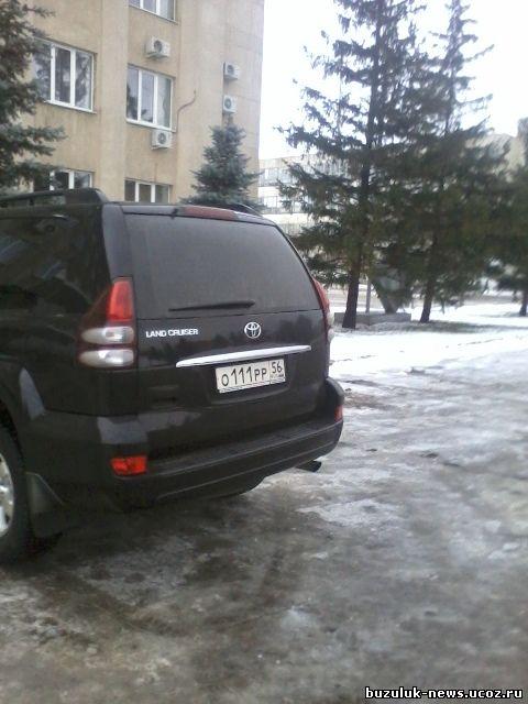 главы Бузулукского района господина В. Садова