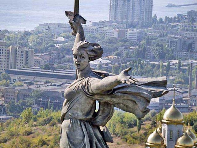 Вернуть Сталинград на карту России
