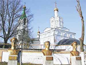 Храм на территории училища ВДВ в Рязани