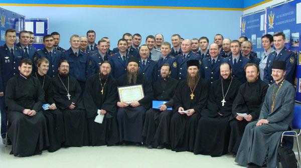 руководители УФСИН и духовенство Оренбургской митрополии